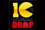 10thDROPロゴ黒