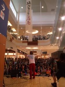 2011年秋、石巻のイオンモールにて、ライブを行う。