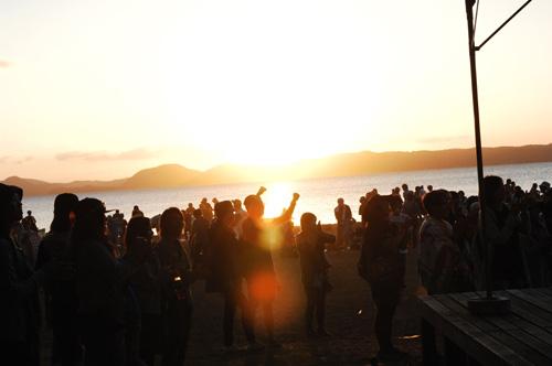 天神浜の景色