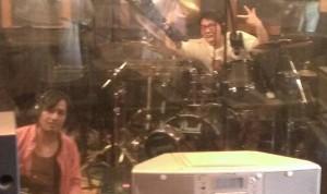 先日当スタジオでレコーディングを行った、5人組ポップロックバンドllenChrome