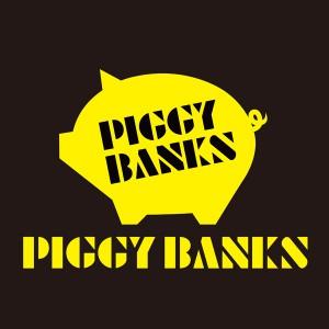 PIGGY BANKSロゴイエロー