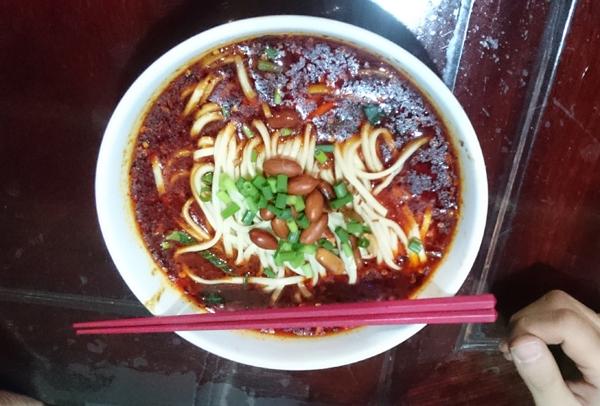 ■注文メニュー:『担々麺』(※辛さレベル2)